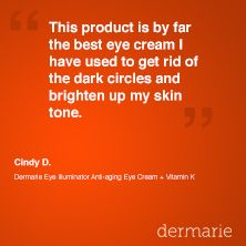 Dermarie Eye Illuminator + Vitamin K Anti-aging Eye Cream review.