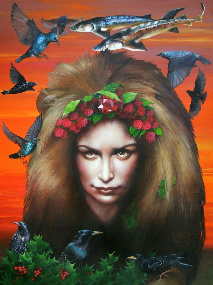 lion par Johanna Uribes