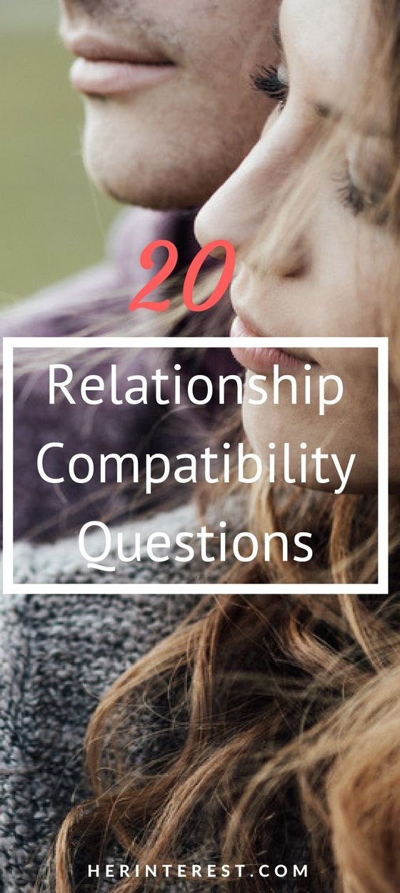 20 Relationship Compatibility Questions