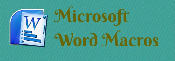 How to Record Microsoft Word Macros