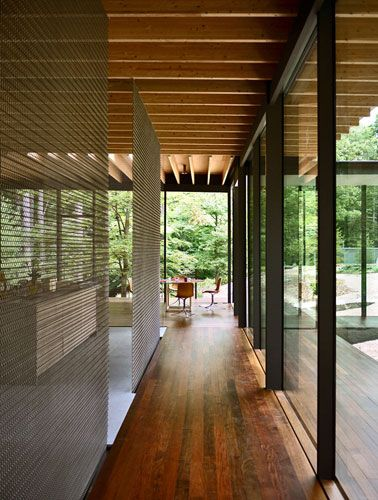 Glass/Wood House Kengo Kuma & Associates New Canaan, Connecticut By Joann Gonchar, AIA