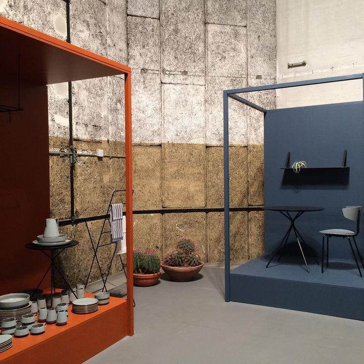 Ferm LIVING Pop Up Shop Displaying The Neu Stoneware Series Herman Chair InteriorsDesign ShopStonewareThe Product