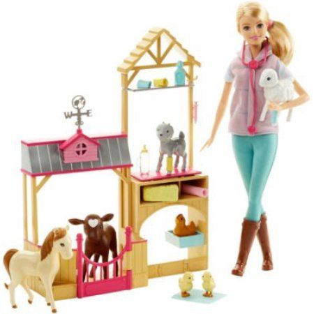 Free 2-day shipping on qualified orders over $35. Buy Barbie Farm Vet Doll Playset at Walmart.com