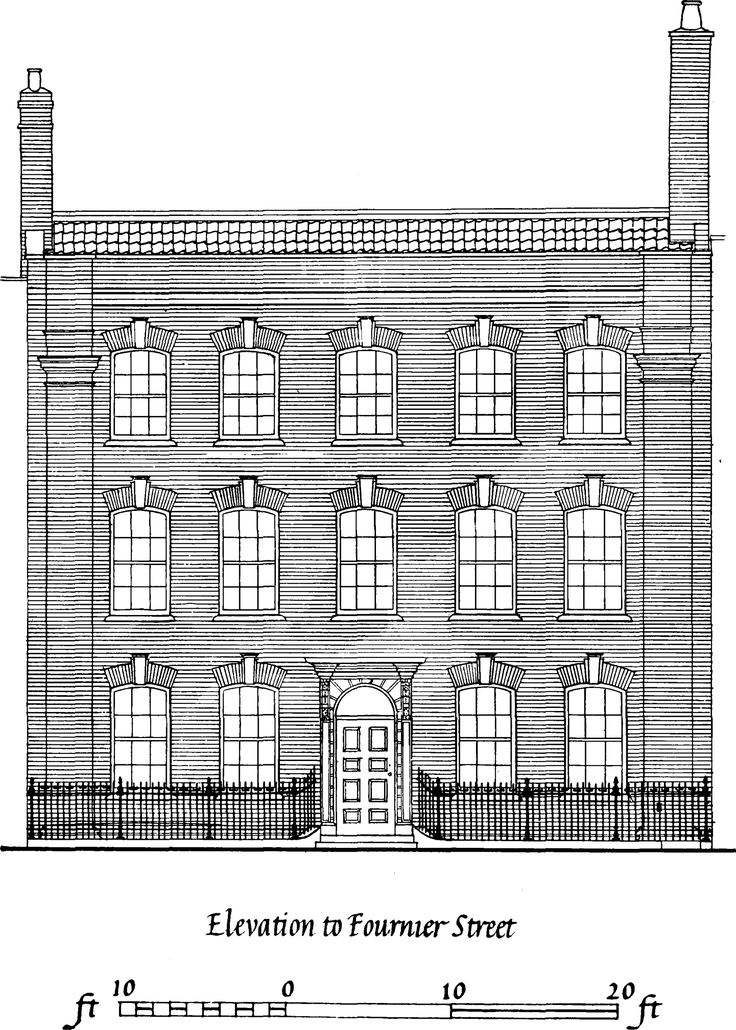 Front Elevation Antique : Best images about our row house a federal facade on