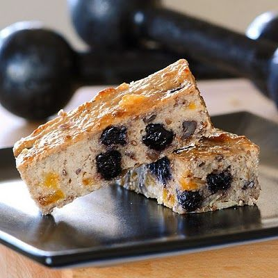 Alton Brown's Protein Power Bars. Loads of healthy ingredients for the tastiest homemade protein bar