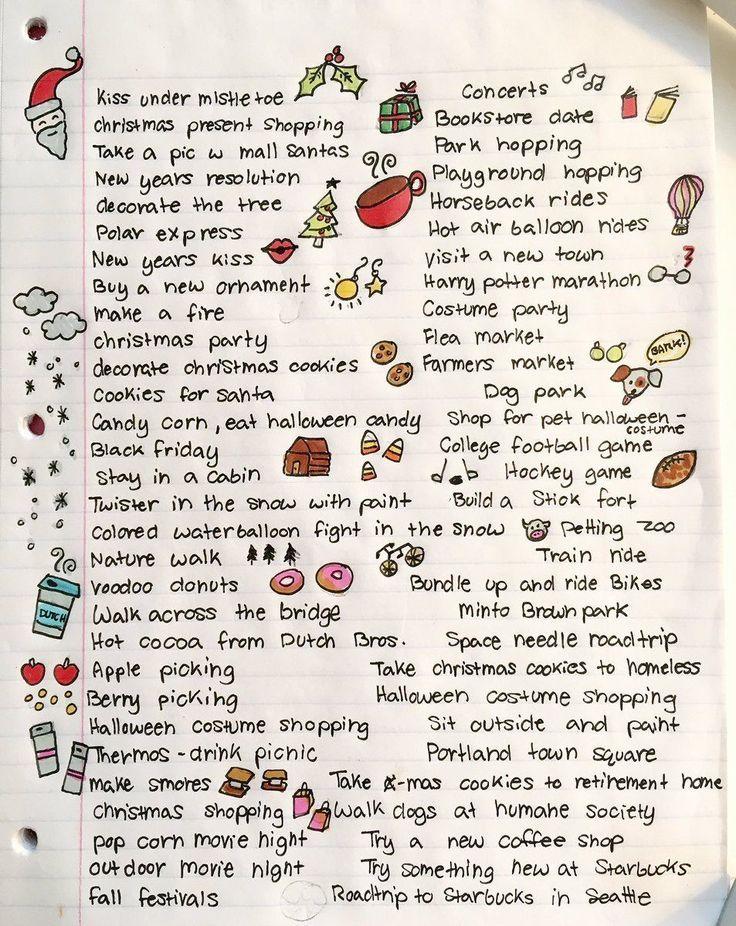 120 fall/winter date ideas