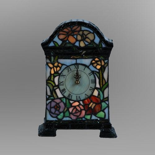 Beautiful Tiffany Style, Stained Glass Clock | Some Times ...