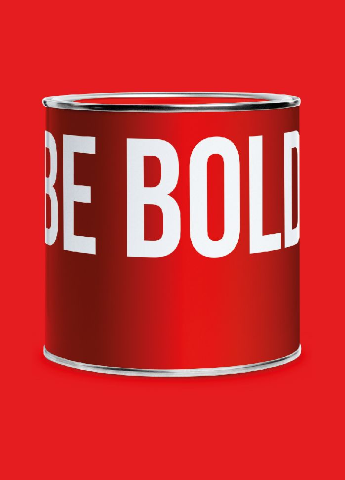 Be bold @tangramdesign