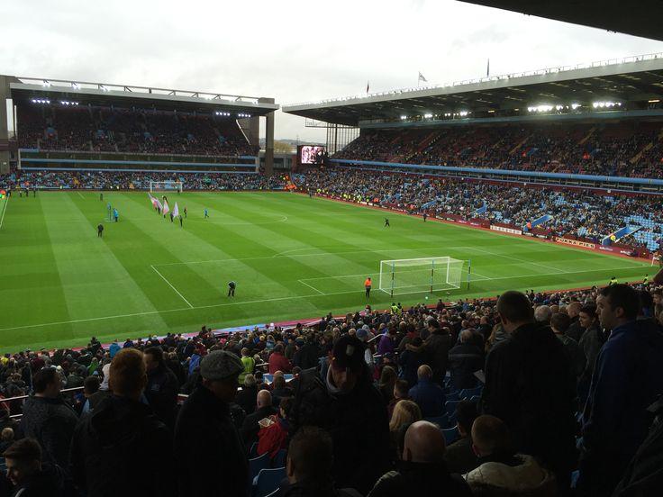 Villa Park before kick off.