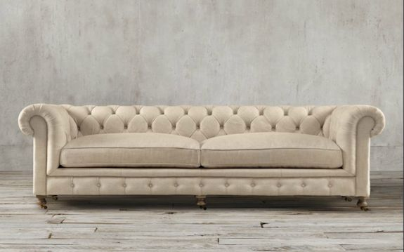 Chesterfield sofa - history, design and choices