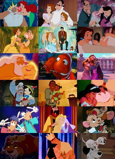 Can you match the Disney Character with their Father?