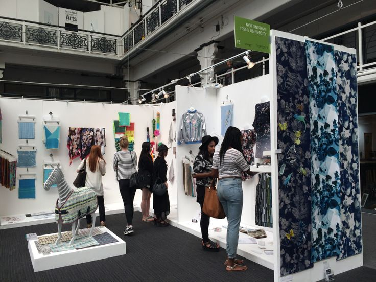 Exhibition Stand University : Best upcoming talent images on pinterest textile