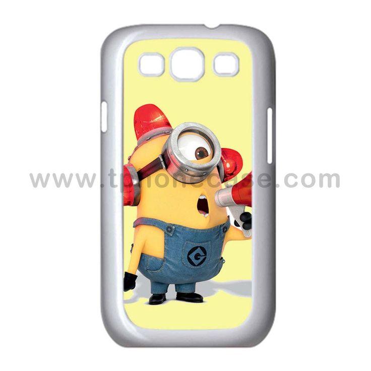 Galaxy S3 Durable Hard Case Design With despicable me