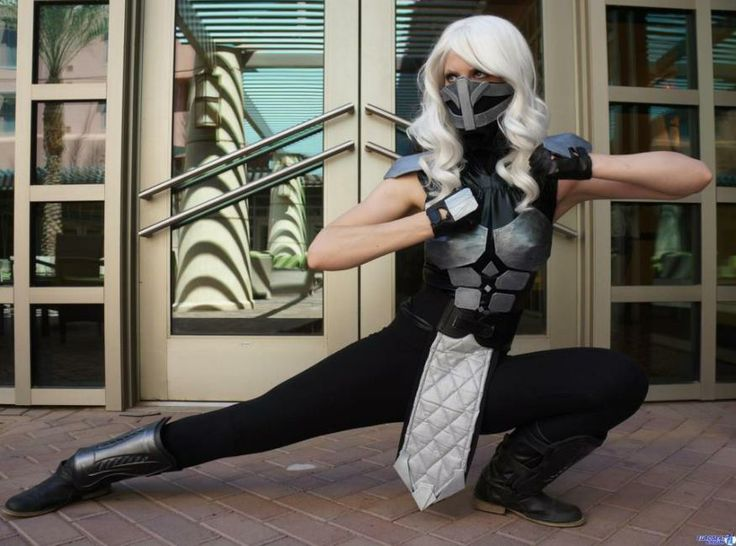 Rule 63 Smoke from Mortal Kombat