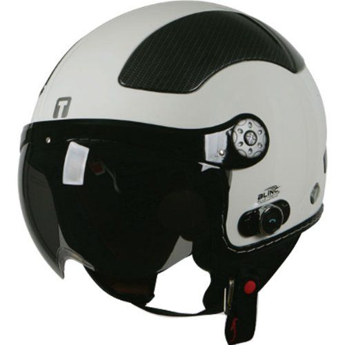 Special Offers - Torc Solid with Blinc Bluetooth Adult Carbon T-58B Harley Touring Motorcycle Helmet  White / Medium - In stock & Free Shipping. You can save more money! Check It (May 12 2016 at 07:37PM) >> http://bestsportbikejacket.com/torc-solid-with-blinc-bluetooth-adult-carbon-t-58b-harley-touring-motorcycle-helmet-white-medium/