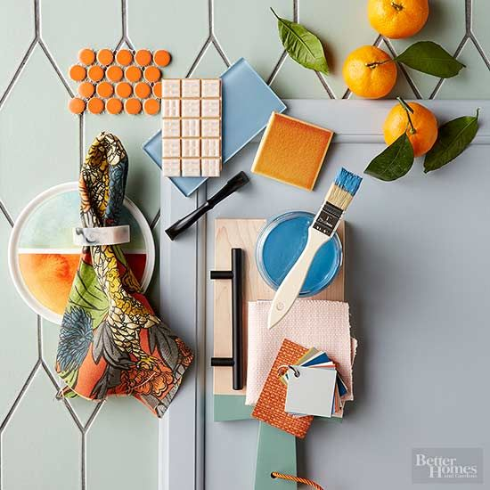 This year's palette is downright upbeat. Don't worry -- not the exuberant, jumping-on-the-couch kind of happy. It's more like the kind of happy where your glass is half-full with an Aperol spritz and your current view is of the ocean. Who's in?