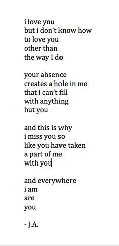 17 Best images about Poems on Pinterest | My heart, Quotes and My love