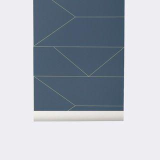 Ferm Living Lines Wallpaper | 2Modern Furniture & Lighting