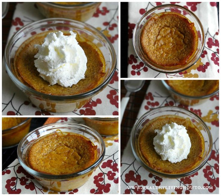 Easy Crust Less Pumpkin Pie. Grain free and sugar free, low carb dessert.