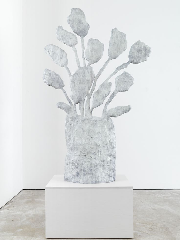 Untitled (Flowers) by Donald Baechler, 2008, Cast bronze