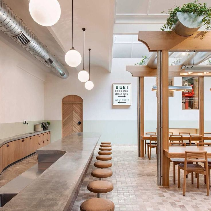 Bravo to the clever @studio_gram team for the beautifully considered and executed design of Osteria Oggi. Great to see our leather tabs and coat hooks in this space.