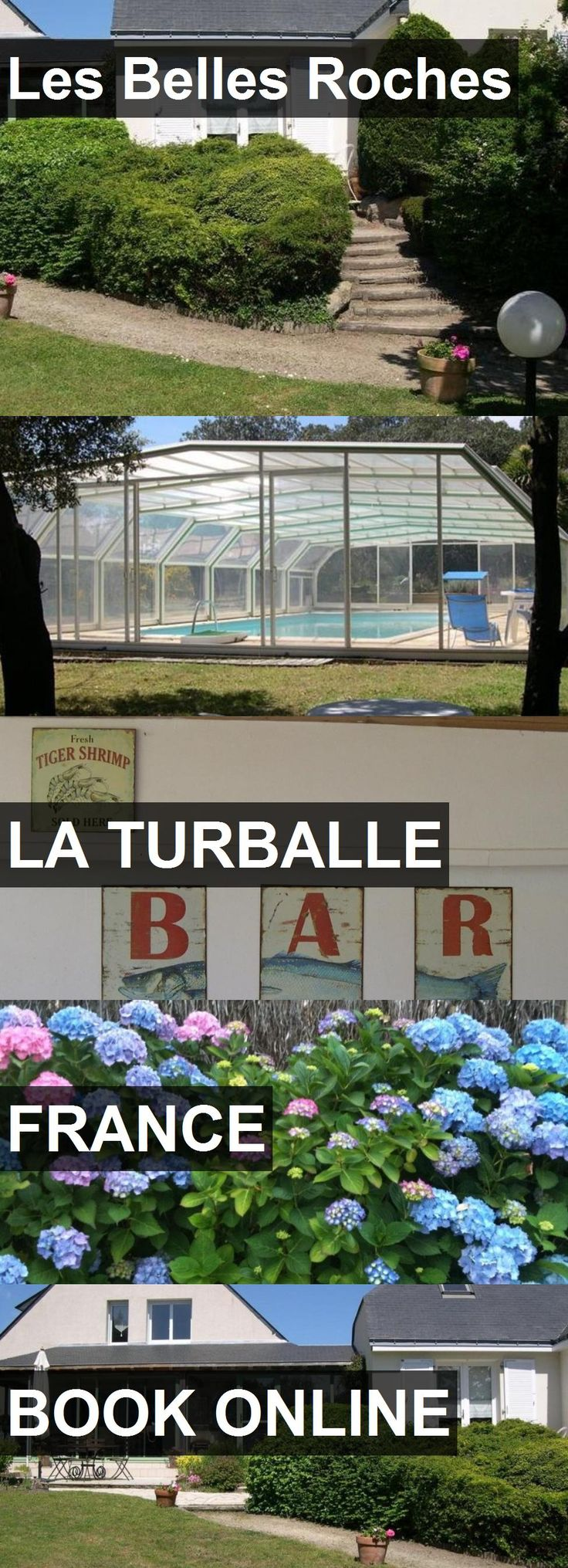 Hotel Les Belles Roches in La Turballe, France. For more information, photos, reviews and best prices please follow the link. #France #LaTurballe #LesBellesRoches #hotel #travel #vacation