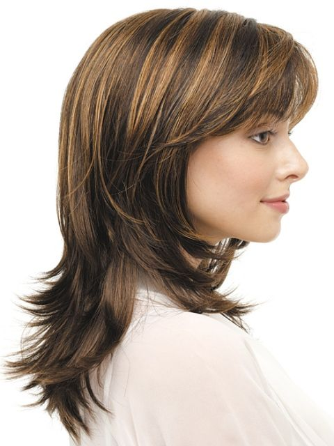 1000 Images About Hairstyles On Pinterest Wispy Bangs