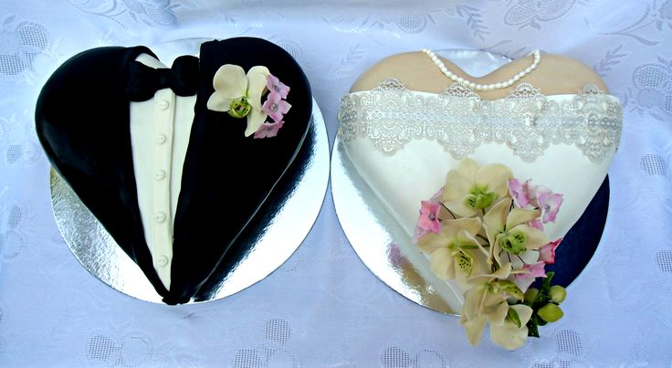 svadobná tort nevesta a ženích