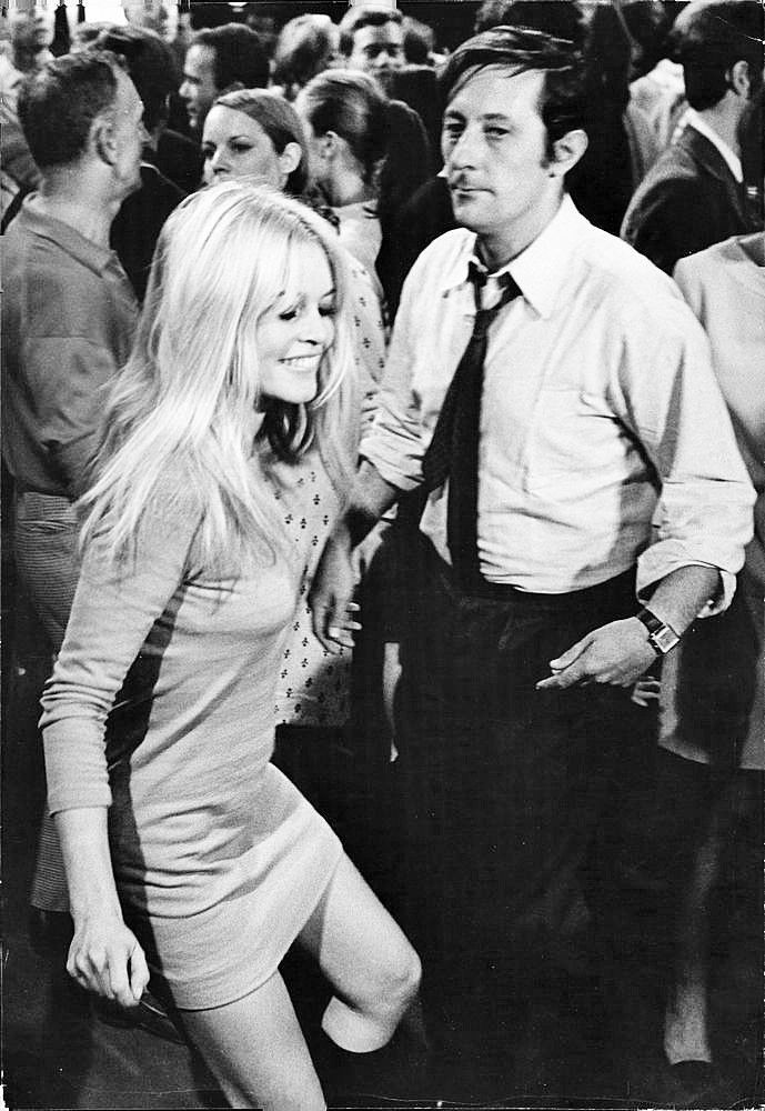 "Brigitte Bardot dancing in ""Two Weeks in September"", 1966"