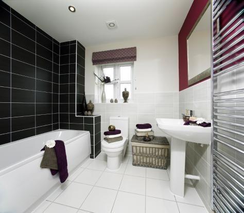 Typical Interior Family Bathroom