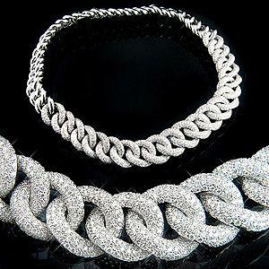 Mens Diamond Pendant Necklace 62 best necklace images on pinterest diamond necklaces womens 18k gold womens cuban link pave diamond necklace 224 audiocablefo
