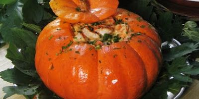 Flavors of Brazil: RECIPE - Shrimp in a Pumpkin (Camarão na Moranga)