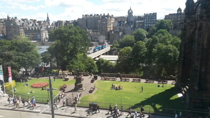 View of the Old Town from The Old Waverley. Book your next stay at www.oldwaverley.co.uk.