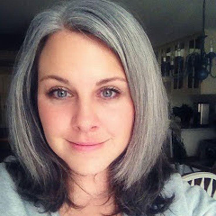 cheveux gris en tie and dye coiffures pinterest colorants et cravates. Black Bedroom Furniture Sets. Home Design Ideas