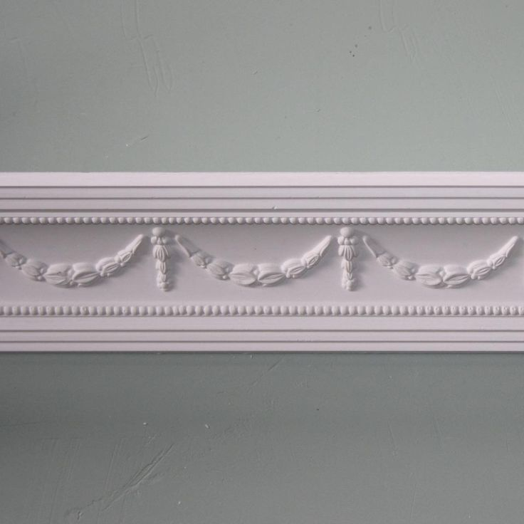 Plaster Coving Swag and Drop 85mm MPC062 1