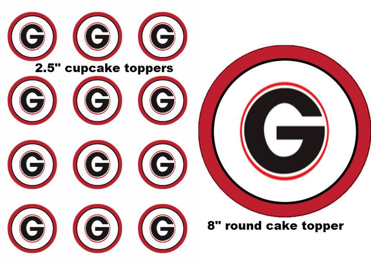 georgia bulldog cupcakes 17 best images about ga bulldog on pinterest infinity 5032