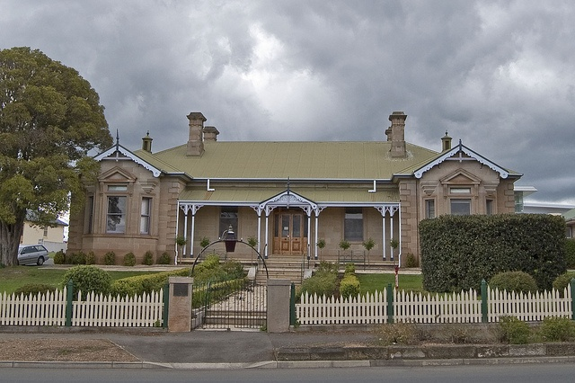 Original Campbell Town Hospital. Campbell Town Tasmania. Tasmania's first regional hospital was opened at Campbell Town in 1855. One of Campbell Towns most active early citizens Dr William Valentine was the hospitals first Doctor from 1839 until his death in 1876.