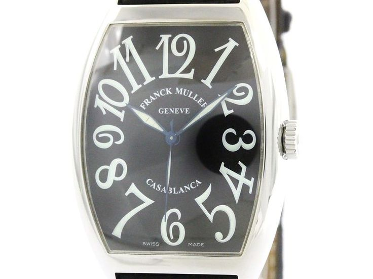 Polished #FRANCKMULLER Casablanca Steel Automatic Mens Watch 6850 (BF107816): #eLADY global offers free shipping worldwide. For more pre-owned luxury brand items, visit http://global.elady.com
