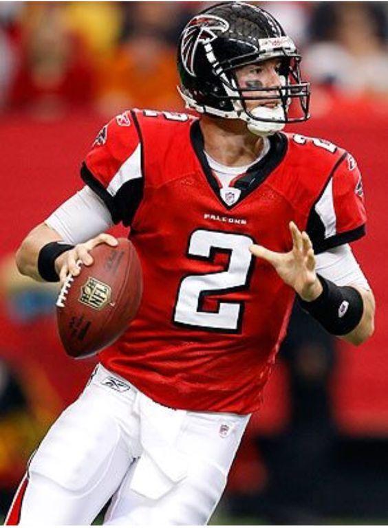 Matt Ryan -Atlanta Falcons quarterback, round one number 3 draft pick in the 2008 NFL draft.