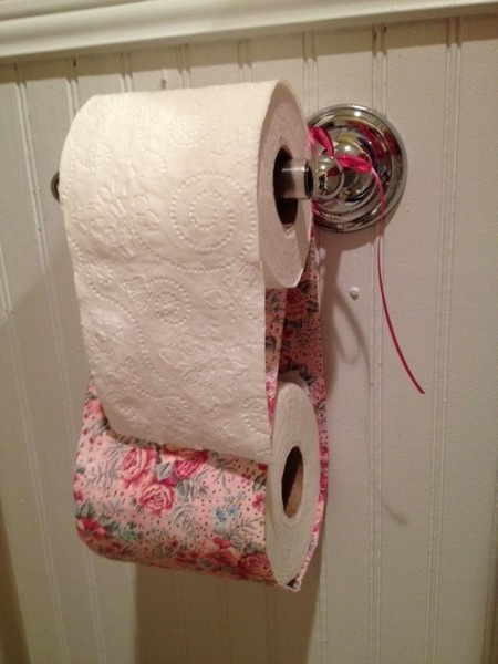 The 55 best images about bathroom on pinterest shower for Diy toilet paper storage
