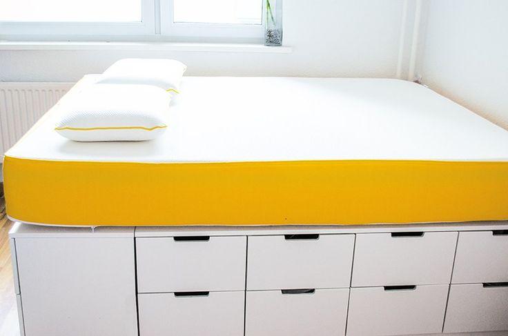 die besten 25 bett selber machen ideen auf pinterest. Black Bedroom Furniture Sets. Home Design Ideas