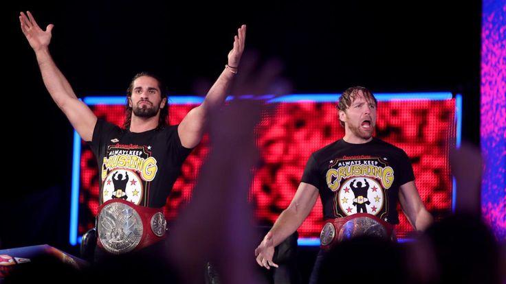 Raw 9/4/17: Heath Slater & Rhyno vs. Cesaro & Sheamus