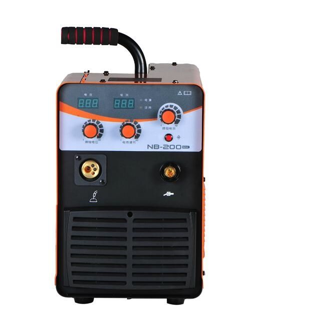 465.00$  Buy here - http://ali501.worldwells.pw/go.php?t=32754746596 - 220V single phase IGBT MIG 200A CO2 MIG welding machine MIG 200 mig mag welding machine MIG-200 NB-200