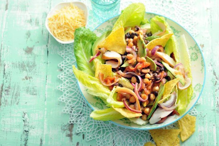 No stress, met deze snelle salade houd je tijd over - Recept - Allerhande