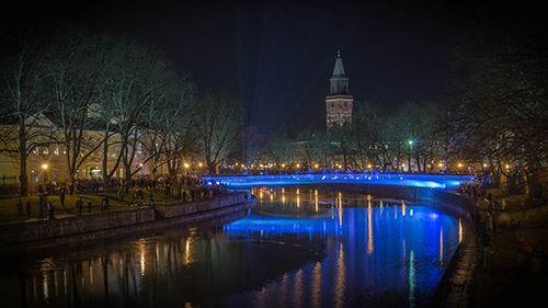Uusi Kirjastosilta / New Library Bridge, Turku