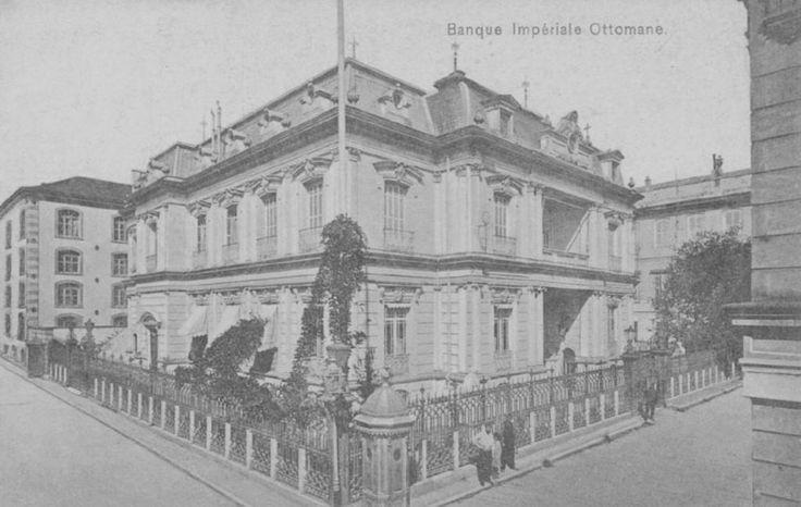 [Ottoman Empire] Osmanli Bank in Salonica (Thessaloniki / Greece) (Osmanlı Bankası, Selanik)