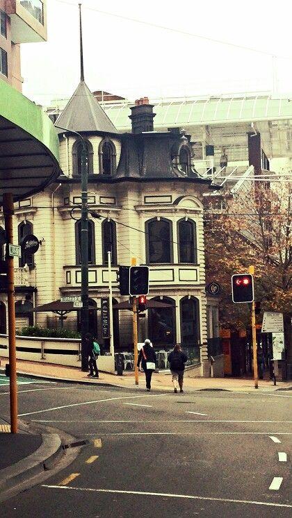 Beautiful old building in Wellington, New Zealand.