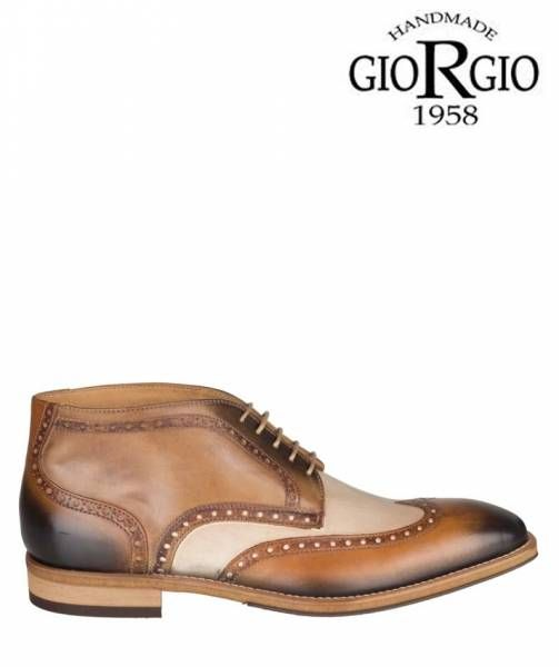 Giorgio 1958 Heren Boot - 47958 Licht Bruin