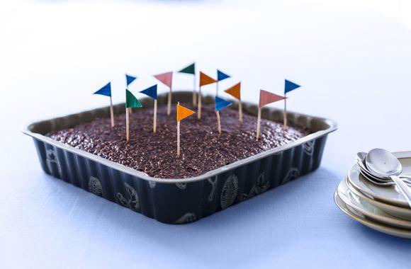 Den der du ved nok chokoladekage