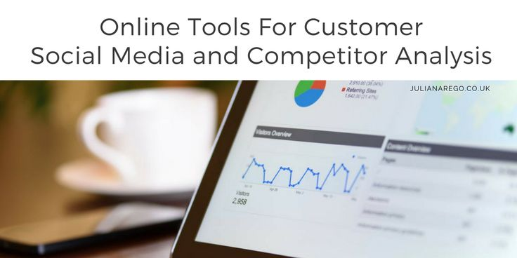 online tools for customer social media and competitor analysis